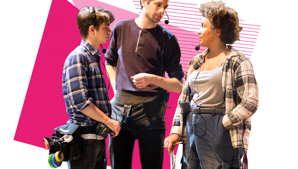 Train at LAMDA on the BA (Hons) Production & Technical Arts Top-Up course